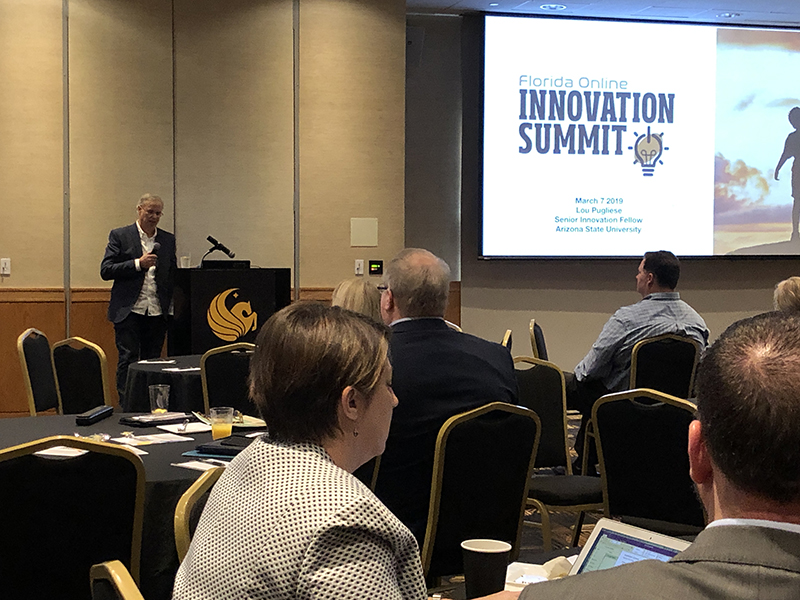 Link to 2019 Florida Online Innovation Summit Photo Album
