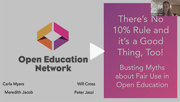 Busting Myths about Fair Use in Open Education Video